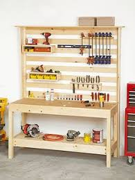 Diy Portable Workbench With Storage Free Plans by 49 Free Diy Workbench Plans U0026 Ideas To Kickstart Your Woodworking
