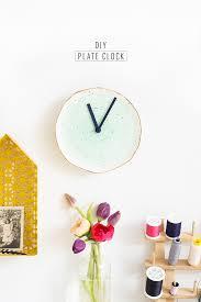 Home Decor Houston by Diy Plate Clock Sugar U0026 Cloth U0027s Home Decor Diy U0027s
