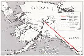 alaska air map alaska airlines