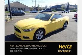 car sales ford mustang used ford mustang for sale in vancouver wa edmunds