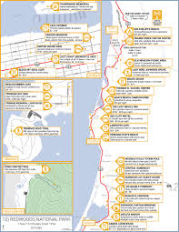 National Parks Road Trip Map Northern California Highway 1 Road Trip Guide