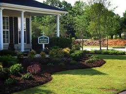 country style landscaping home design inspirations
