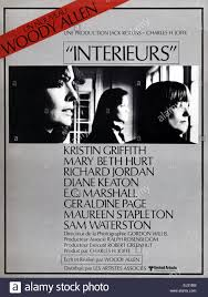 Interiors Woody Allen Interiors Year 1978 Usa Director Woody Allen Movie Poster Fr