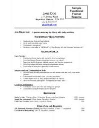 Sample Of Work Resume by Examples Of Resumes 89 Surprising What To Write In A Resume