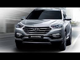 hyundai santa fe facelift 2016 hyundai santa fe facelift suv launched in