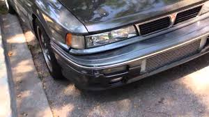 mitsubishi eterna 1992 galant vr4 1992 youtube