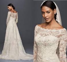 oleg cassini wedding dress discount modest oleg cassini wedding dresses with sleeves