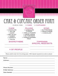 cake order 23 best cake order forms images on cake pricing order
