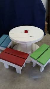 Wire Spool Table Made From A Wire Spool Turjardineria Great I Do Not Have Plans