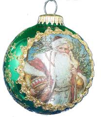 krebs glass ball with masters silk 2017 dated ornament the