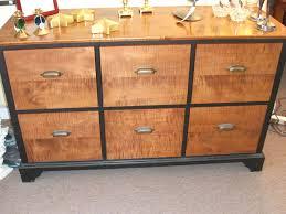 decor 2 dark brown wooden decorative file cabinet glass cabinet