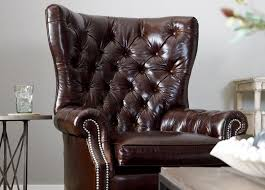 Best Luxurious Leather Images On Pinterest Ethan Allen - Leather chairs living room