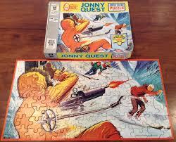jonny quest jonny quest vintage 1964 u0027winter adventure jigsaw puzzle complete
