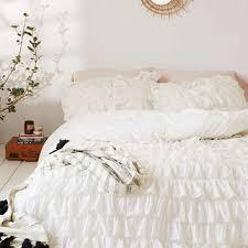Waterfall Comforter Shop Ruffle Duvet Cover On Wanelo
