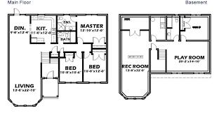 split entry floor plans split entry b riggs realty team