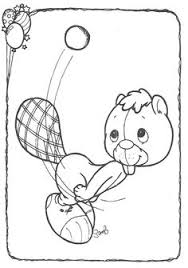 precious moments animals coloring pages birdie