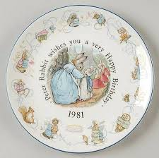 wedgwood rabbit wedgwood rabbit birthday at replacements ltd