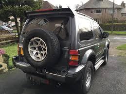 96 n mitsubishi pajero 2 8 td auto swb 1 uk owner 7 months mot