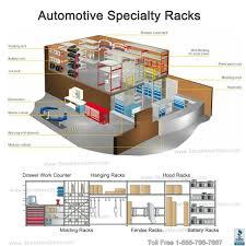 floor mat storage rack srp0482a parts room shelving for car mats