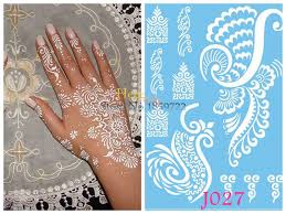 1pc removal indian henna tattoo stickers j027 fake wings fly