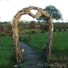wedding arches made from trees an elaborate driftwood wedding arch made of many small pieces of