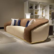 High End Modern Italian Designer Nubuck Leather Sofa Juliettes - Chelsea leather sofa