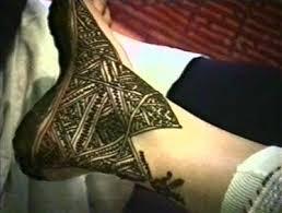 zur symbolik von maghrebinischen hennatattoo bzw mehndimustern