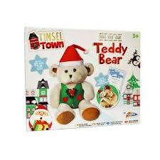 build your own teddy grafix tinsel town christmas teddy poundtoy