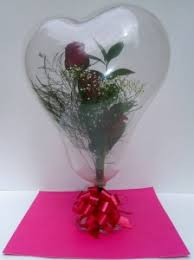 in a balloon gift fresh roses in a balloon balloons in sutton ma posies n presents