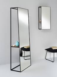 Mirror With Shelves by Unique Voluminous Chassis Mirrors With Shelves Digsdigs