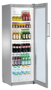 fridge freezer glass door liebherr u0027fkvsl 4113 u0027 drinks fridge