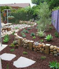 Rock Garden Beds Best 25 River Rock Landscaping Ideas On Pinterest Diy Rock Flower