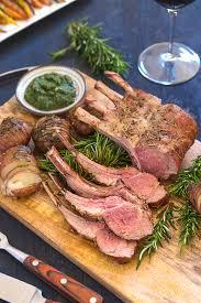 grilled rack of lamb viva la food