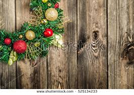 Decoration From Christmas christmas wreath red baubles useful christmas stock photo