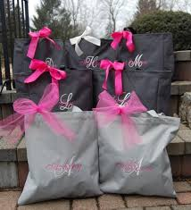 bridesmaid totes personalized bridesmaid totes set of 7 2055472 weddbook