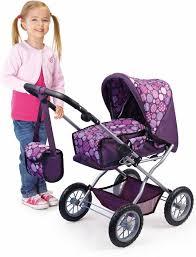 bayer design puppenwagen bayer design kombi puppenwagen grande lila rosa kaufen