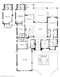3 Car Garage Dimensions Merion Floorplan Stock