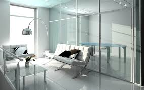Waiting Room Chairs Design Ideas Glass In The Interior For Visually Larger And Brighter Space