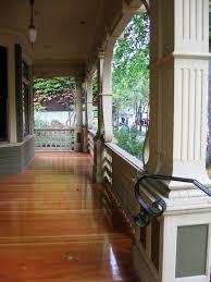 house porch simon benson house