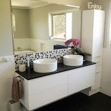 tall boy storage cabinet white wooden bathroom cabinet cupboard