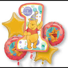 1st birthday balloon delivery party decorations miami kids birthday balloon bouquets