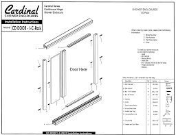 Glass Shower Doors Milwaukee by Dmg Semi Frameless Shower Door With Inline Panel Custom Shower