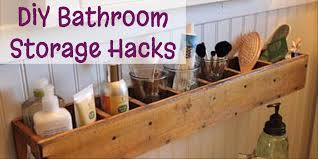 diy bathroom storage ideas diy bathroom storage and organization hacks involvery community