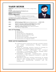 Simple Example Resume by 100 Simple Sample Resume In Malaysia Resume Example For Job