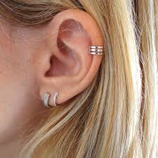 where to get cartilage earrings silver cartilage earrings allthemust