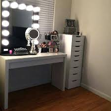 Ikea Malm Vanity Table Find This Pin And More On Vanity Beauty Room Ikea Malm Black Brown