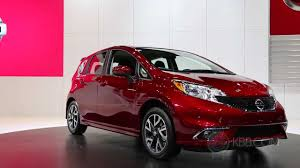 nissan versa note sr 2015 nissan versa note sr 2014 chicago auto show youtube