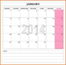 monthly planner template word word calendar template for 2016