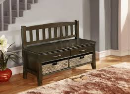 Bench For Foyer by Furniture Foyer Bench With Grey Carpet And Small Glass Windows