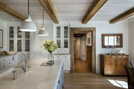 Rustic White Cabinets Kitchen Cabinets Island Shelves Cabinetry White Walnut Stone